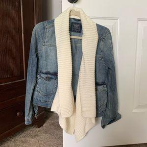 NWOT Abercrombie Jean jacket